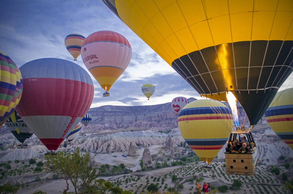 Hot Air Balloon Tour